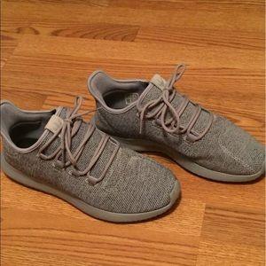 Adidas Men's Grey Tubular Shoes (size 11)